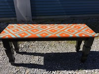 Hand painted bench Annville