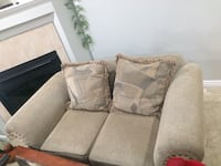 Made in Canada sofa and two Love seats  3731 km