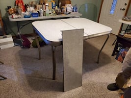 50's dining table & leaf
