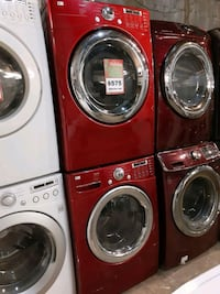 LG front load washer and dryer set working perfectly 4 months warranty Baltimore, 21223