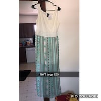 Large maxi dress nwt Ankeny, 50023