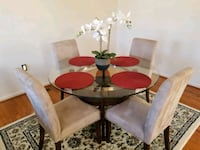 Glass Dining Table w/Chairs West Springfield, 22152