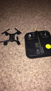 black DX-2 quad copter drone with remote Oklahoma City, 73099