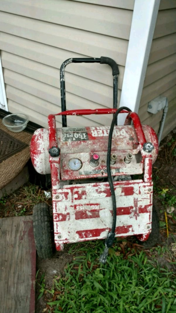 Porter Cable Job Boss compressor works great! 1.6  ee26ac50-6e78-486b-969b-ecfe2063c8c1