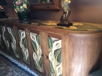Estate Sale - Hand-Carved Mahogany Dining Room Buffet Calgary