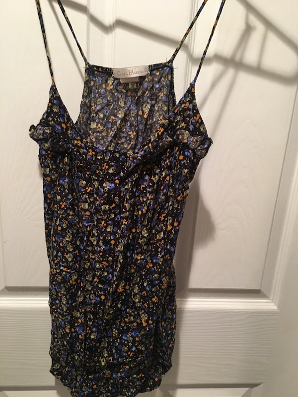 64ab13413a949 Used Costa Blanca floral tank top for sale in Toronto - letgo