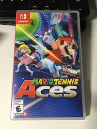 Mario Tennis Aces for Nintendo Switch (Brand New Sealed) Virginia Beach, 23453
