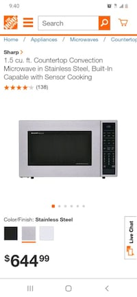 SHARP carousel convection microwave oven Minneapolis, 55401