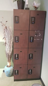 Heavy solid personal locker with 4 digits code Spring, 77379
