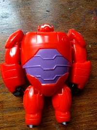 armored Baymax action figure 544 km