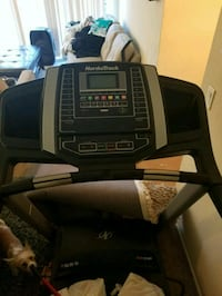 black and gray Pro-Form treadmill Sacramento, 95834