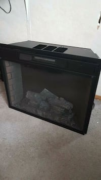 Electric fire place with heat Calgary, T2A 0W5