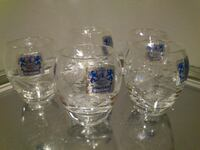 5 Crystal Shot Glasses West Springfield