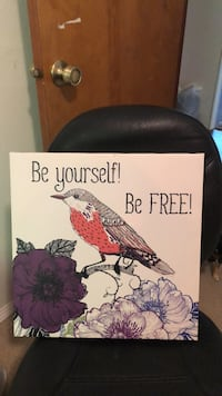 "painting wall decor ""be yourself"" Scappoose, 97056"
