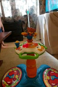 toddler's multicolored plastic toy Fort Meade