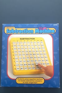 Lakeshore Learning Subtraction Machine