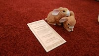 Antique porcelain bunnies never used