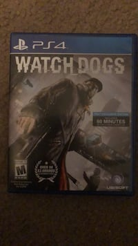 Ps4 watch dogs game Canyon Lake, 92587