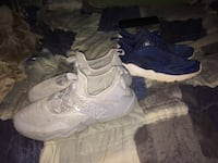 pair of gray-and-white running shoes Hamilton, L9C 4B6