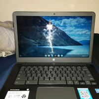 black and gray HP laptop Arlington, 22203