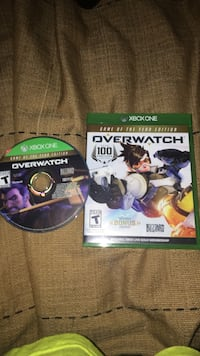 Xbox One Overwatch game disc with case South Huntingdon, 15698