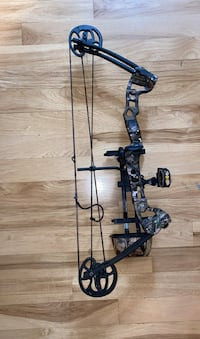 Barnett 2027mo Vortex Hunter Right Handed Compound Bow 45-60 Lbs