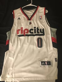 white, red, and black Adidas Ripcity-printed jersey Tampa, 33620
