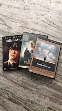 DVDs - The Green Mile , Road to Perdition, Saving Private Ryan Chicago, 60615