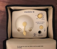 white Medela electric breast pump Schertz, 78108