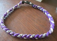 Purple Sports Necklace