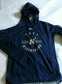 Under Armour Womens NCAA Navy hoodie Manassas, 20111