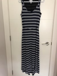 Navy blue and grey Maxi Dress! Port Coquitlam, V3C