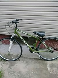 green and black hardtail mountain bike Dayton, 45410