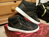 pair of black Vans Sk8-Hi sneakers Denver, 80229