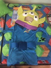 alien toy story costume 4 -6yrs age Clearwater, 33755