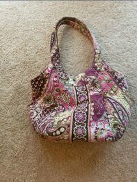 pink and white floral Vera Bradley handbag Woodbridge, 22192