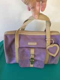 """Makeup bag, 11"""" x 8"""", excellent condition.  Clean inside.  Great when traveling. Leland, 28451"""