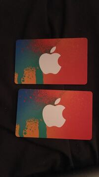 Two $25 iTunes Cards