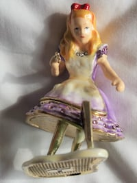 PIEARTH Jewelry Accessory Box Alice in Wonderland  Toronto