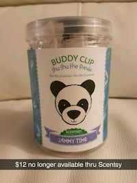 SCENTSY - Shu Shu the Panda Buddy Clip  London, N5Y 4S5