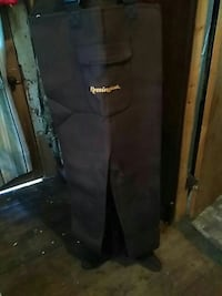 black Remington pants