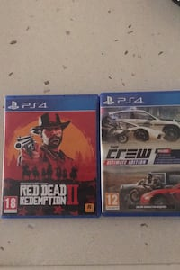 RDR2+ The Crew Ultimate Edition PS4 (2 oyun) Osmaniye
