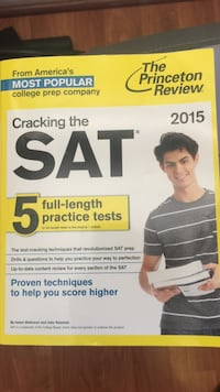 Cracking the SAT textbook 2244 mi
