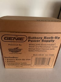 Genie Garage Opener Battery Backup Hagerstown, 21740