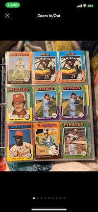 Topps 1975 Baseball Card Collection