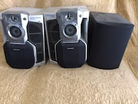 black and gray home theater system North Las Vegas, 89032