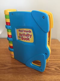 Fisher Price - First Words Electronic Activity Book