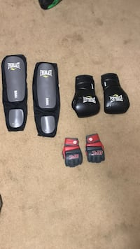 Boxing/MMA gloves and shin guards  Gaithersburg