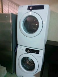 white front-load washer and dryer set Indianapolis, 46254