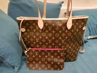 borsa in pelle marrone Louis Vuitton Maddaloni, 81024